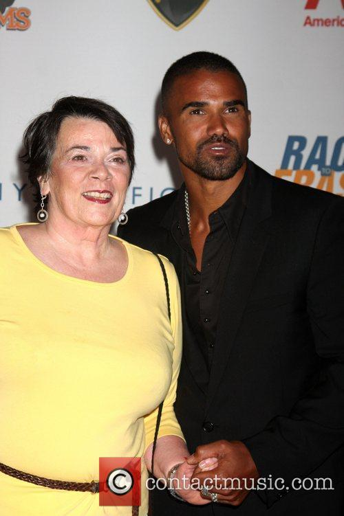 Shemar Moore and Marilyn Moore 3