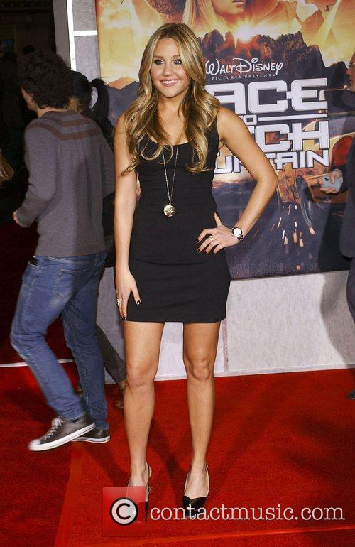 Amanda Bynes Premiere of 'Race to Witch Mountain'...