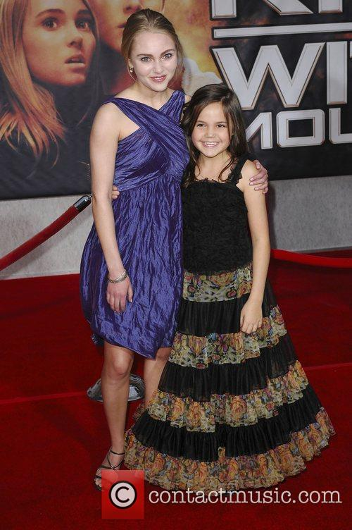 AnnaSophie Robb and Bailee Madison Premiere of 'Race...