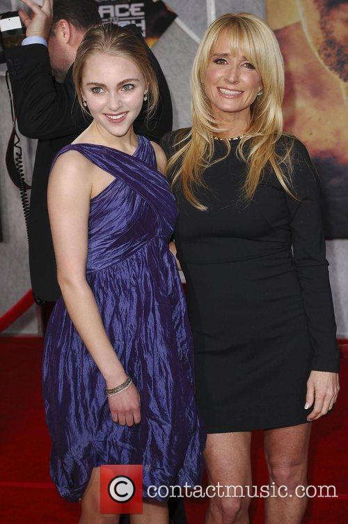 AnnaSophie Robb and Kim Richards Premiere of 'Race...