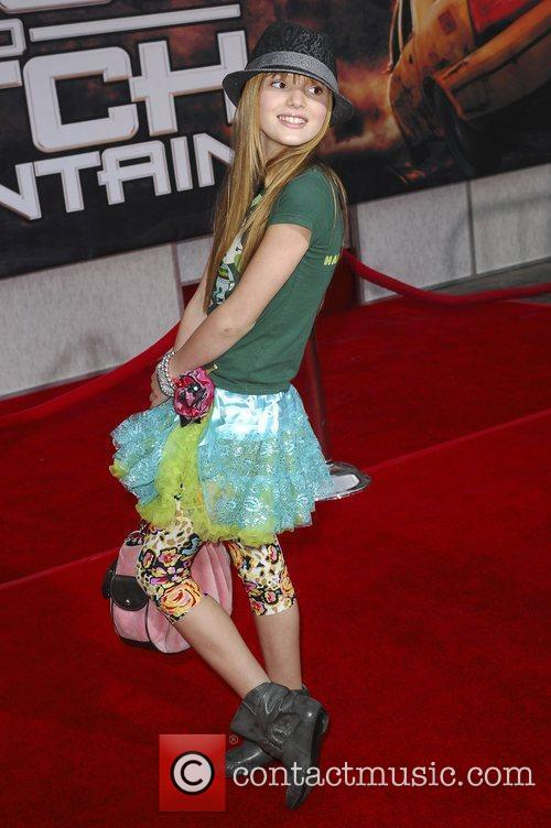Bella Thorne Premiere of 'Race to Witch Mountain'...