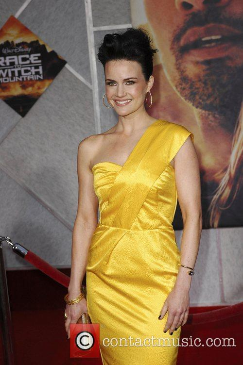 Carla Gugino Premiere of 'Race to Witch Mountain'...