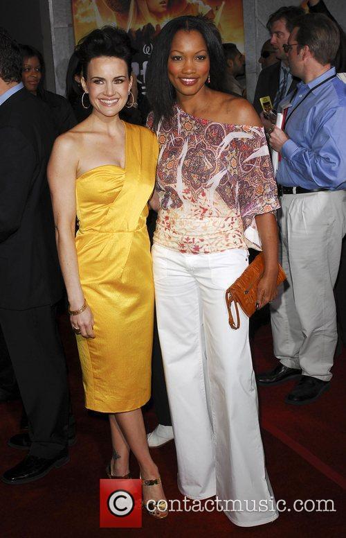 Carla Gugino and Garcelle Nilon Premiere of 'Race...