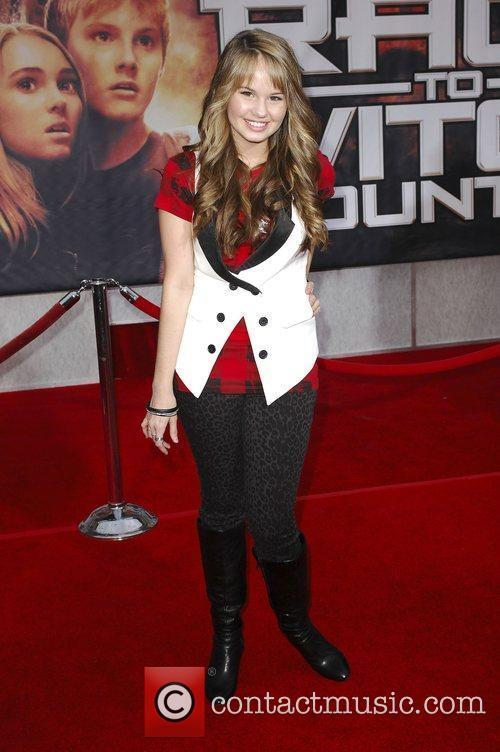 Debby Ryan Premiere of 'Race to Witch Mountain'...