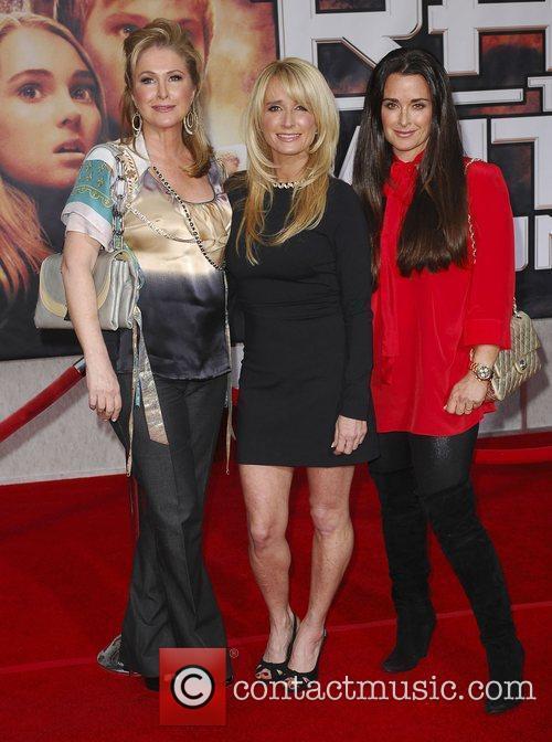 Kathy Hilton, Kim Hilton and Kyle Richards Premiere...
