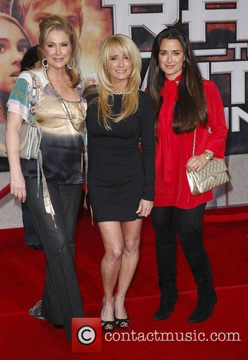 Kathy Hilton, Kim Richards and Kyle Richards Premiere...