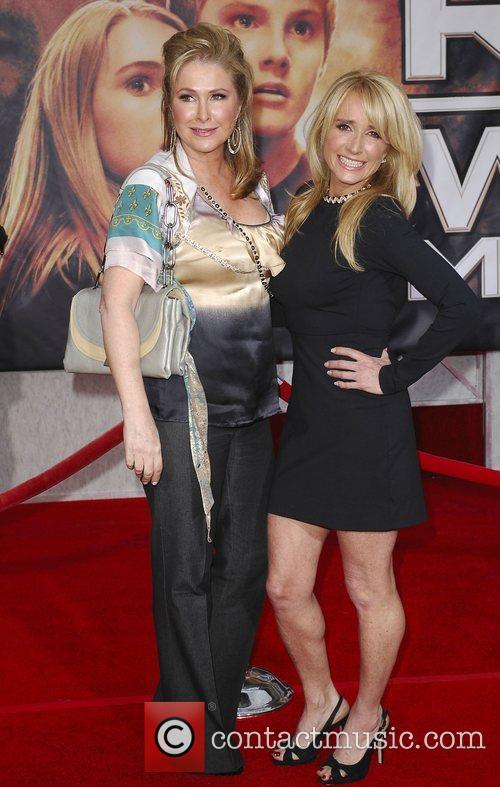 Kathy Hilton and Kim Richards Premiere of 'Race...