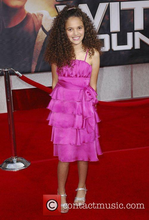 Madison Pettis Premiere of 'Race to Witch Mountain'...