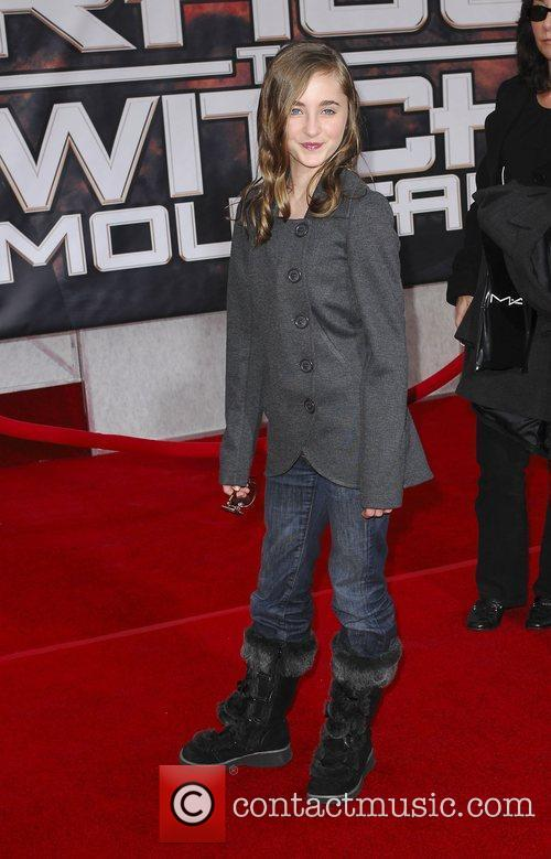 Rachel Fox Premiere of 'Race to Witch Mountain'...