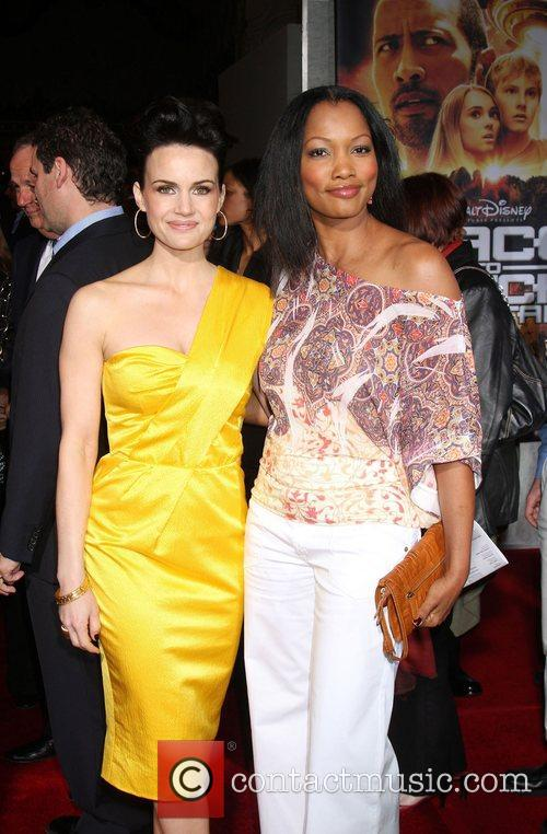 Carla Gugino and Garcelle Beauvais-Nilon  Premiere of...