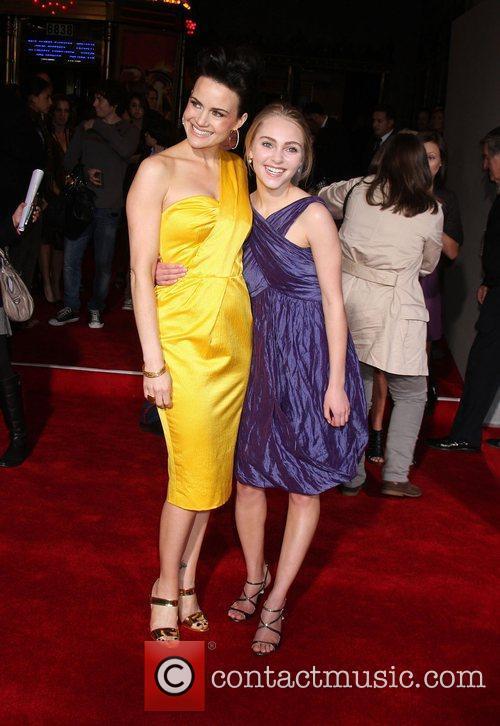 Carla Gugino and AnnaSophia Robb Premiere of 'Race...