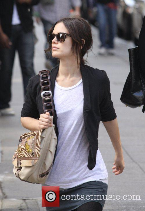 Rachel Bilson shopping at John Derian in SoHo