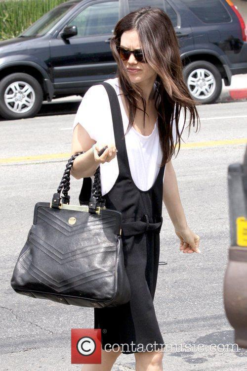 Rachel Bilson shopping in Hollywood with a friend...