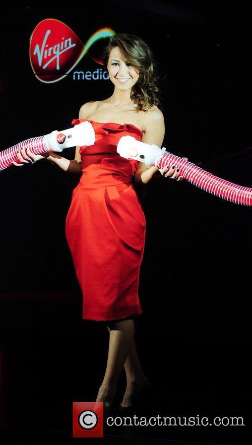 'Turns on' Virgin Media's new 50Mb broadband service...
