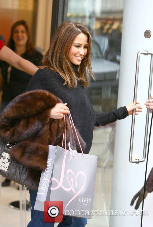 Rachel Stevens  shopping at Lipsy ahead of...