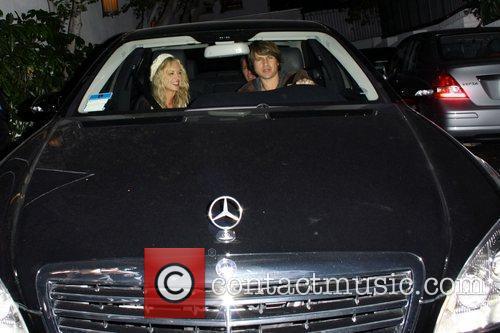 Celebrity fashion stylist Rachel Zoe leaving Chateau Marmont...