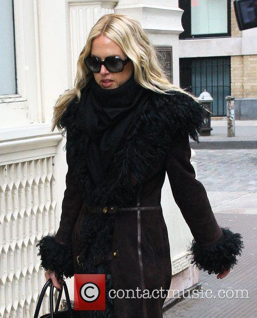 Celebrity stylist Rachel Zoe out shopping in Manhattan...