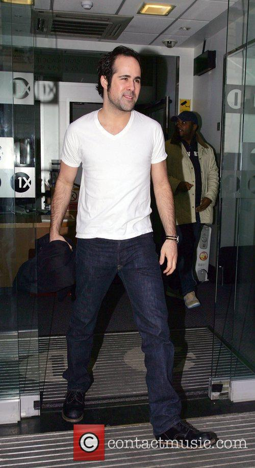 Leaving Radio One studios