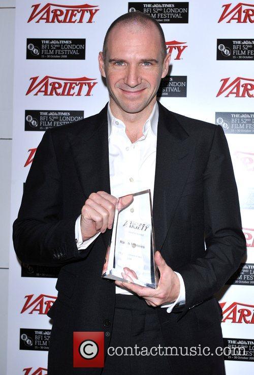 Receives the Variety UK Achievement in Film Awards...