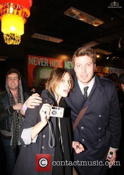 Alexa Chung and Rick Edwards The launch of...