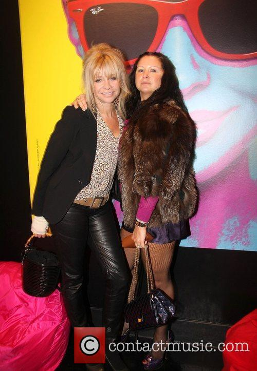 Jo Wood and Guest The launch of Ray-Ban...