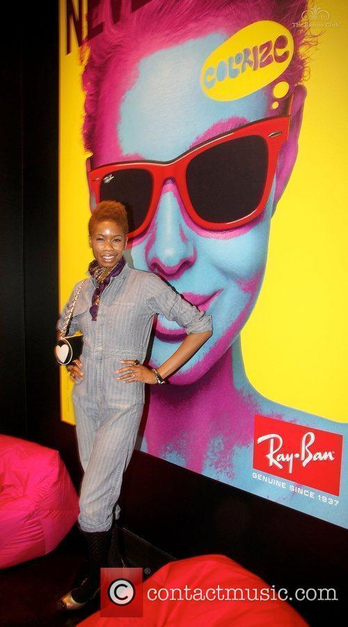Tolula Adeyemi The launch of Ray-Ban Colorize held...