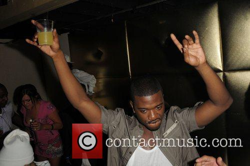 Ray J dances at the launch of Scandalous...