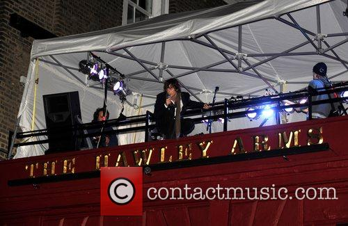 Johnny Borrell and Razorlight 8