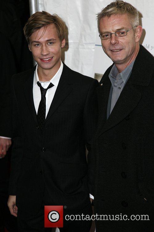 David Kross, Stephen Daldry The New York premiere...