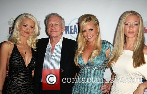 Holly Madison, Bridget Marquardt, Hugh Hefner