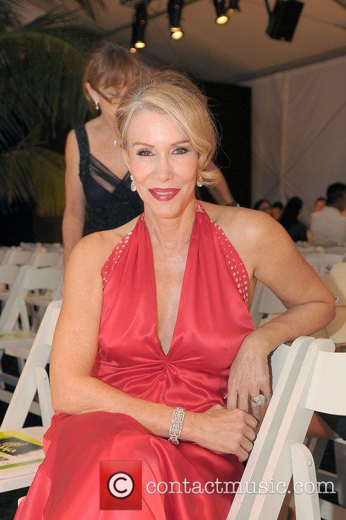Red dress for the American Heart Association fashion...