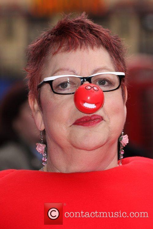 Jo Brand Red Nose Day 2009 press launch...