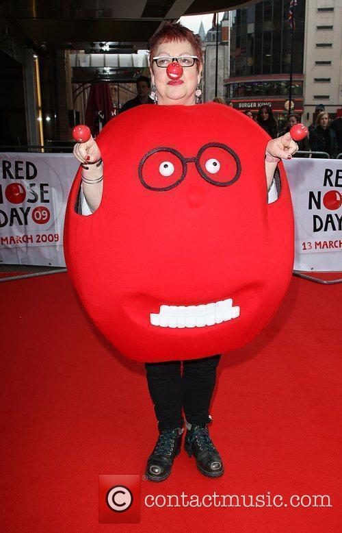Jo Brand Red Nose Day - press launch...