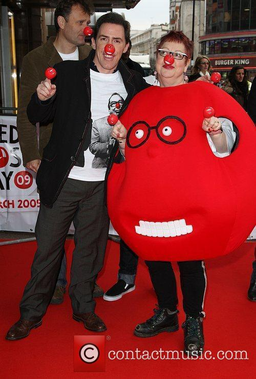 Rob Brydon and Jo Brand Red Nose Day...