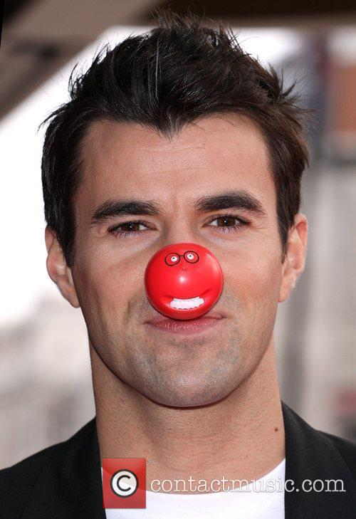 Steve Jones Red Nose Day - press launch...