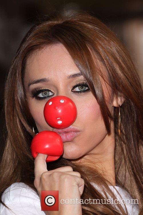 Una Healy from The Saturdays Red Nose Day...