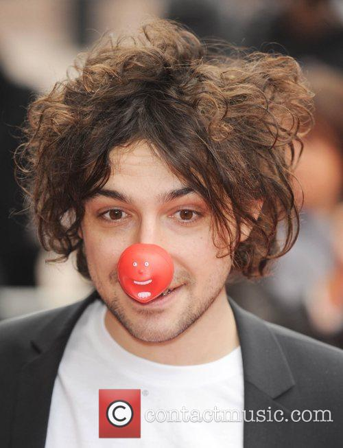 Alex Zane Red Nose Day - press launch...