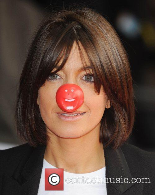Claudia Winkleman Red Nose Day - press launch...