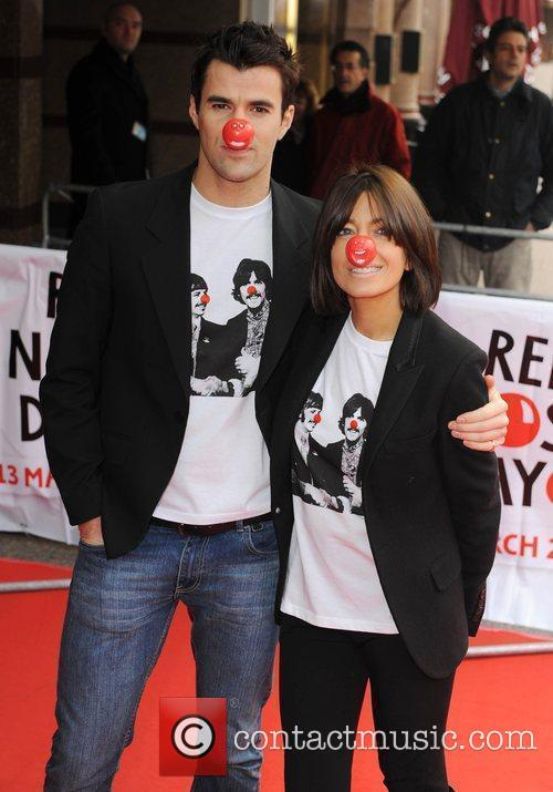 Claudia Winkleman and Steve Jones Red Nose Day...
