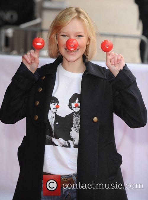 Joanna Page Red Nose Day - press launch...