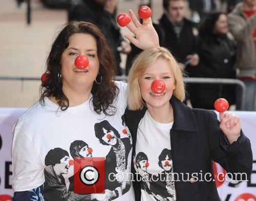 Joanna Page and Ruth Jones Red Nose Day...