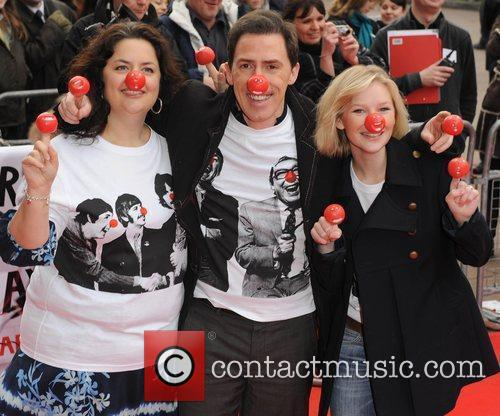 Joanna Page, Rob Brydon and Ruth Jones Red...