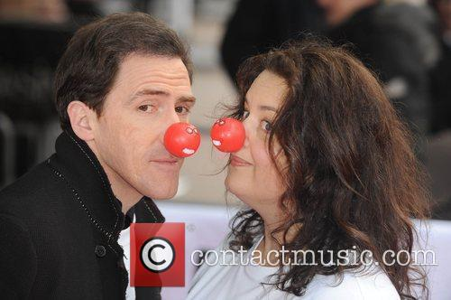 Rob Brydon and Ruth Jones Red Nose Day...