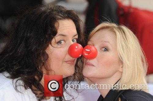 Ruth Jones and Joanna Page Red Nose Day...