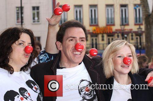 Ruth Jones, Rob Brydon and Joanna Page Red...
