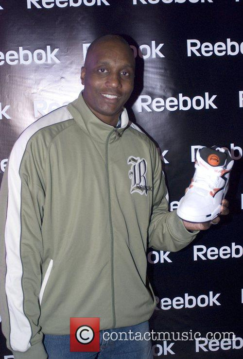 Guest Grand opening of Reebok Flash Pop-Up Shop...