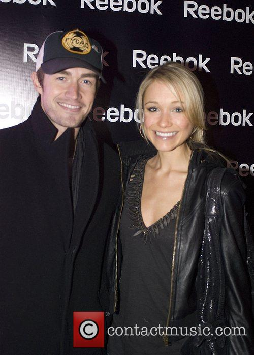 Robert Buckley and Katrina Bowden  Grand opening...