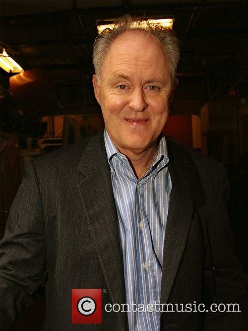 John Lithgow leaving ABC Studios after appearing on...
