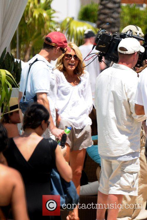 Kelly Ripa at the Fontainebleau Hotel after a...