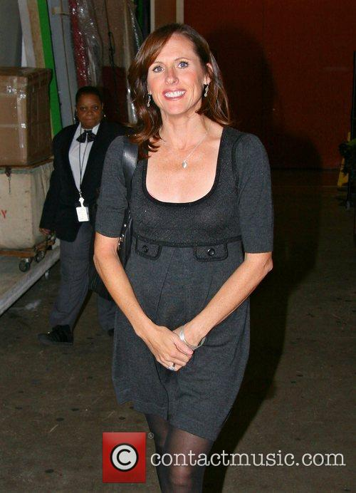 Molly Shannon leaving ABC Studios after appearing on...